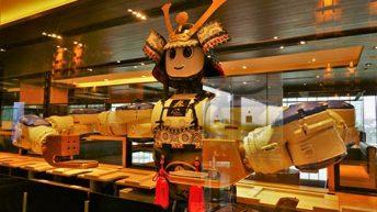 Hajime Robot Restaurant in Bangkok - Samurai Robot