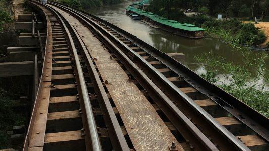 Death Railway - on the Bridge on the River Kwai Tour in Kanchanaburi - Thailand