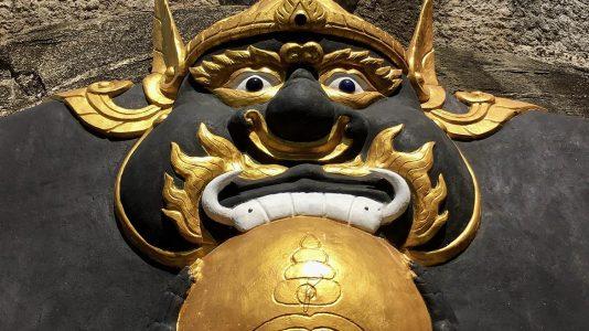 Statues at Wat Khao Tao in Hua Hin - Thailand