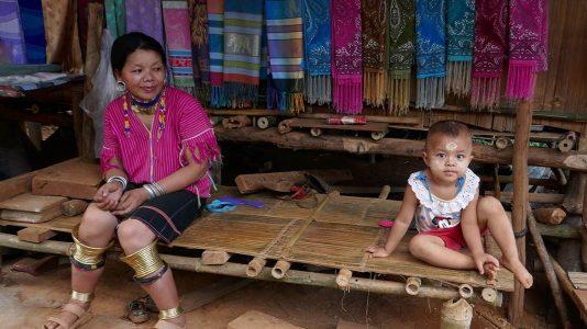Traditional Villagers Near Chiang Rai - Thailand