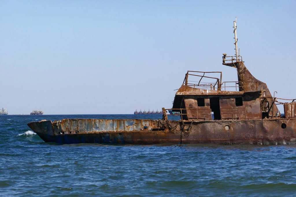 Rust Always Wins - Shipwreck in Noaudhibou - Mauritania