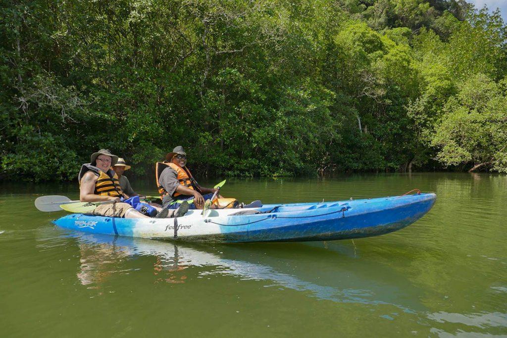 Team Hazard River Kayaking in Ao Nang - Thailand