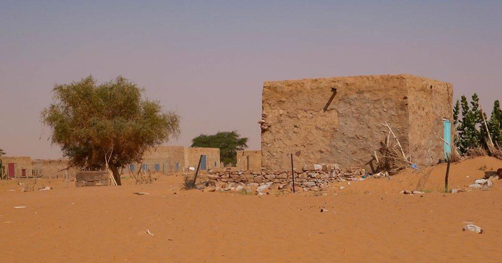 Desert Town on Camel Trek in the Adrar - Mauritania