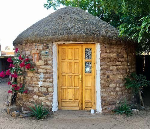 Travel over 50 and maybe find a location for retirement - hut at Bab Sahara