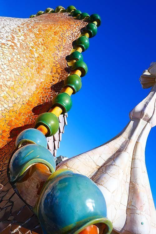 Adventures abroad are attainable - Gaudi rooftop in Barcelona