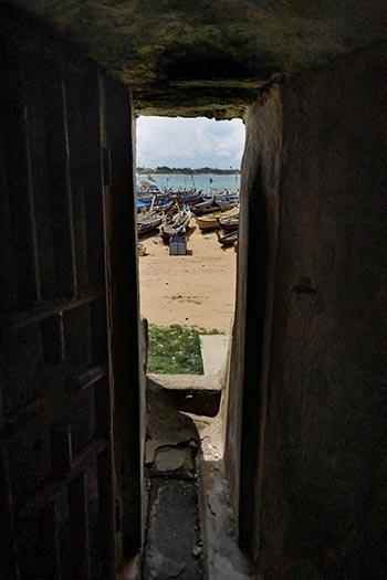 Door of No Return in Elmina Castle