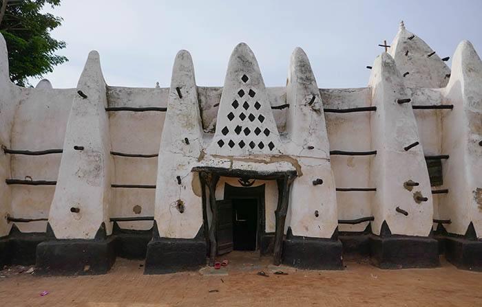 Larabanga's Mud and Stick Mosque in Northern Ghana