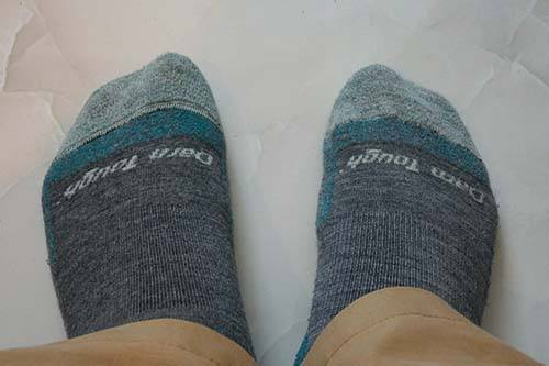Darn Tough Socks in Action - Unique Travel Gifts