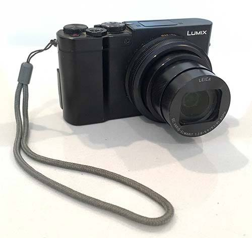 Panasonic DMC-ZS100 Camera with Lens Out