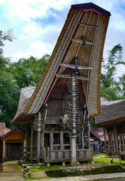 Tongkonan - Traditional House in Tana Toraja