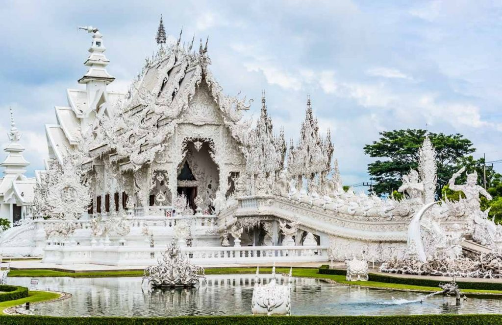 The amazingly eccentric carvings of the White Temple tell of a journey...