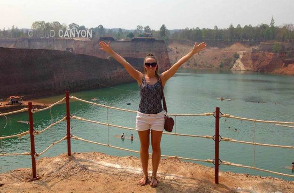 The Grand Canyon in Chiang Mai is actually an unused quarry filled with water