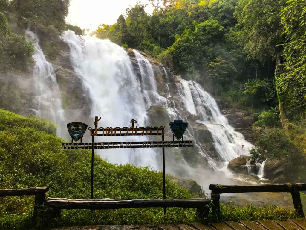 Waterfall at Doi Inthanon National Park