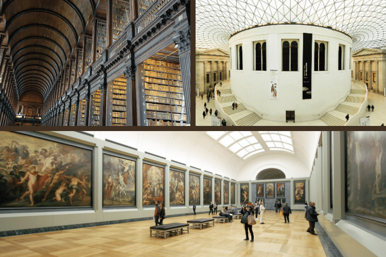 Museum 3d Virtual Tours from Around the World - Louvre, Getty, Smithsonian