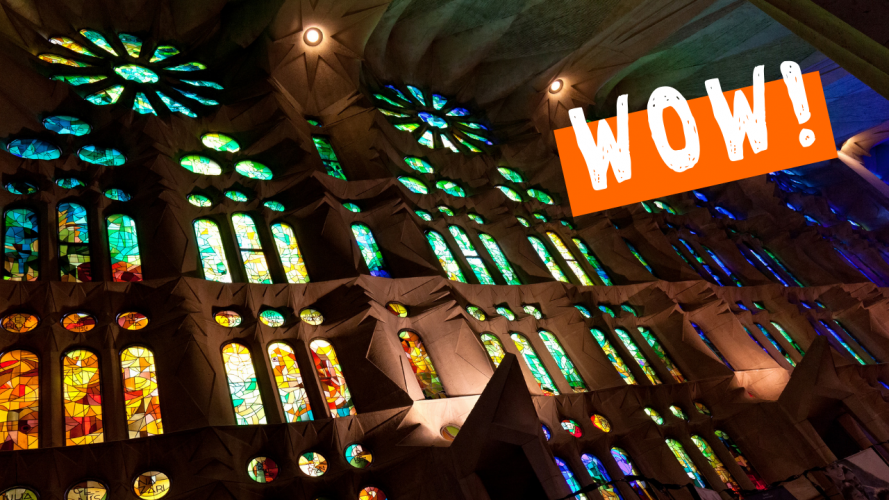 Look Inside Sagrada Familia