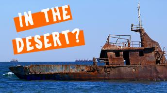 Shipwrecks in Mauritania - Sahara Desert