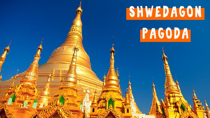 Shwedagon Pagoda with LIVE Buddhist Ritual