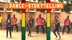 Tamale Cultural Center Dancers in Ghana