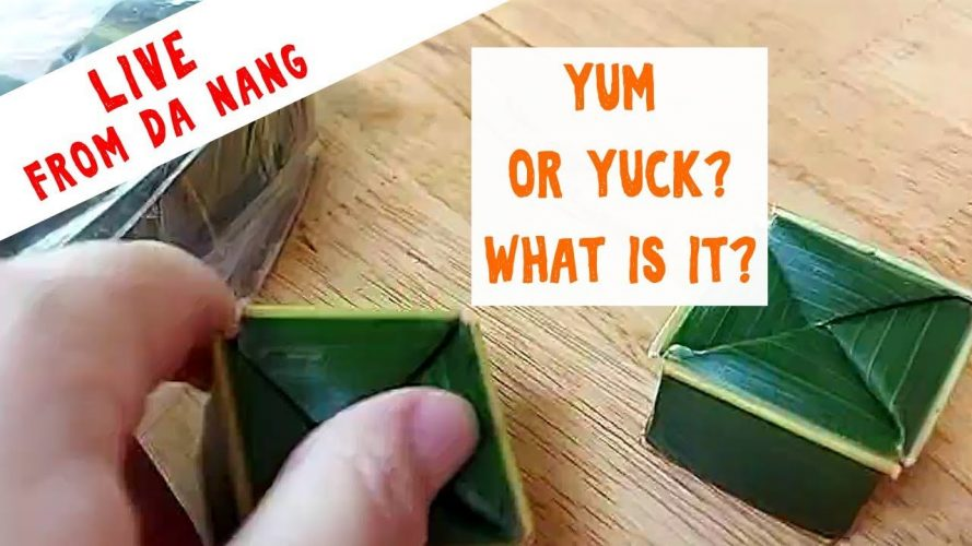 Mystery Vietnamese Food Unboxing and Taste Test