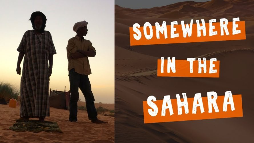 Camel Trek Call to Prayer in Chinguetti, Mauritania