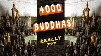 Amazing 4000 Buddhas in the Pak Ou Caves on the Mekong River in Laos #shorts
