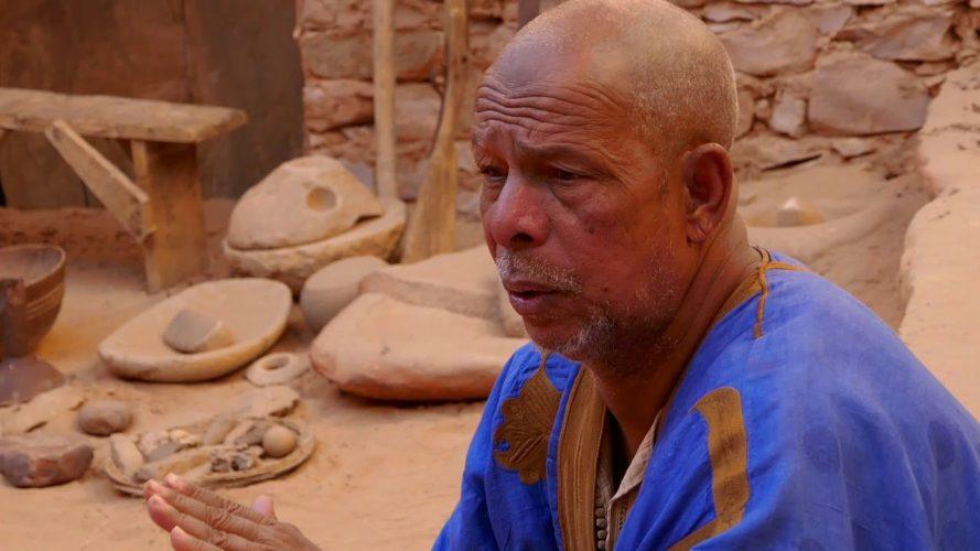 Ancient Desert Library in Chinguetti - Mauritania - short version