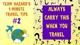 Always Travel With This - Especially When Crossing a Border - 1-Minute Travel Tips #2