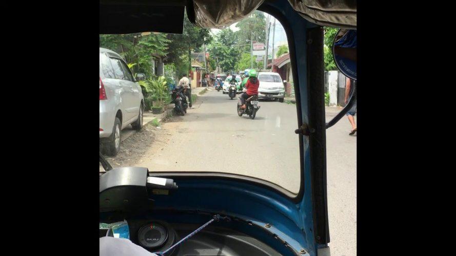 A Typical Tuk-tuk Ride in Jakarta