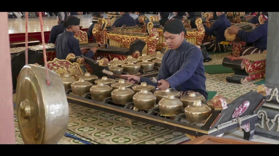 Traditional Indonesian Music and Dance at the Sultan's Palace in Yogyakarta