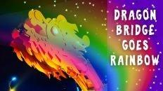 Dragon Bridge in Da Nang, Vietnam - Rainbow Version