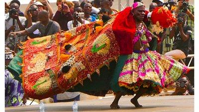 Benin Vodun Dancer