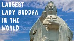 Largest Lady Buddha for MV